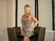 Milf teases husband with her bigtits before the swingers club