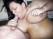 Fatty bbw Donna from Manchester getting fisted and spunked on beer can in pussy