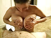 She loves to suck the head of my cock until I cum on her face