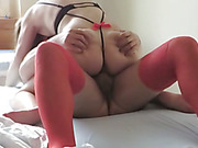 Milf riding a cock by the way of a slow style for a better taste
